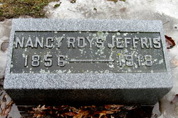 """Nancy Lois """"Nannie"""" <I>Roys</I> Jeffris"""