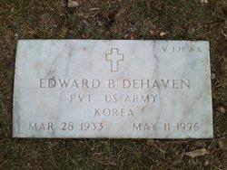 Edward B DeHaven