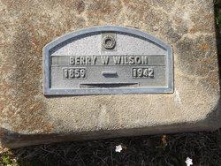 Berry W Wilson