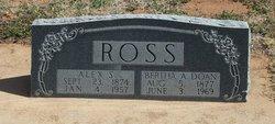 Bertha Amanda <I>Doan</I> Ross