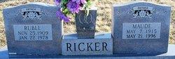 Ruble Ricker