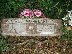 Betty Joyce <I>Crawford</I> Westmoreland