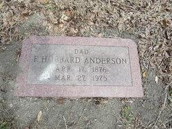 Francis Hubbard Anderson