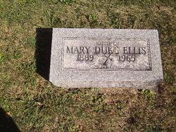 Mary Elizabeth <I>Duke</I> Ellis