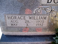 Horace Wiliam Boothe, Sr