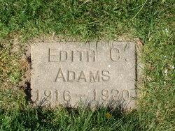 Edith C Adams