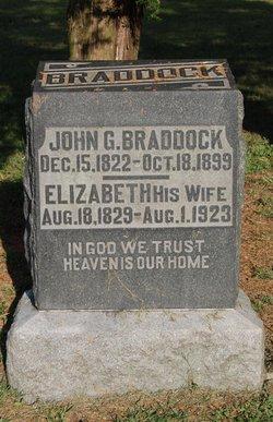 Elizabeth <I>Jones</I> Braddock