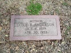 """Eudoxia """"Doxie"""" <I>King</I> Anderson"""