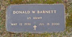 "Donald W. ""Jack"" Barnett"