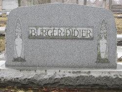 Bertha C. <I>Tonne</I> Burger