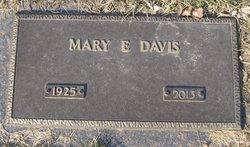 Mary Elizabeth <I>Mulkey</I> Davis
