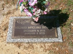 "Mildred ""Millie"" <I>McClure</I> Hoover"