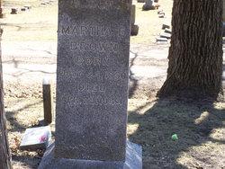 Martha E Brown