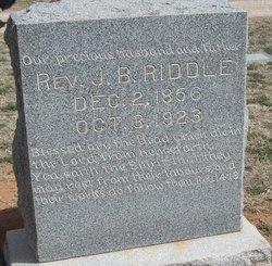 Rev James Buchanan Riddle