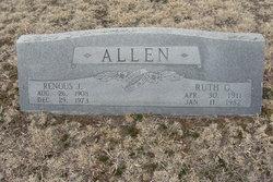 Ruth G. <I>Beeley</I> Allen
