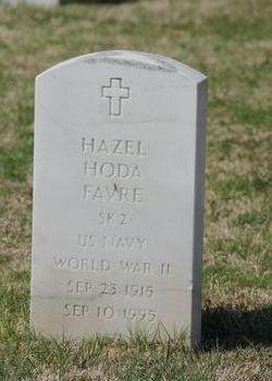 PO Hazel <I>Hoda</I> Favre
