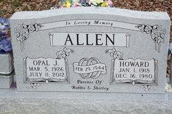 Opal J. <I>Brewer</I> Allen