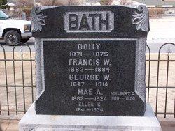 "Adelbert George ""Del"" Bath"