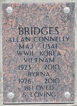 Maj Allan Connelly Bridges
