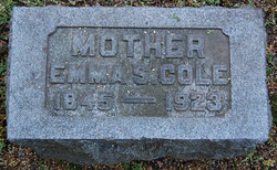 Emma <I>Shetterly</I> Cole