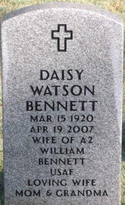 Daisy <I>Watson</I> Bennett