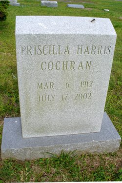 Priscilla <I>Harris</I> Cochran