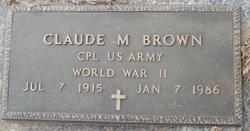 Claude Milton Brown