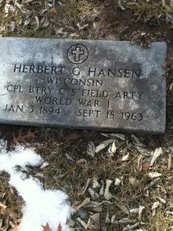 Herbert George Hansen