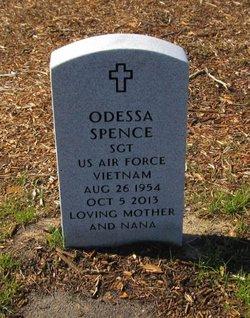 """Odessa """"Nana"""" <I>Taylor</I> Spence"""