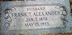 Frank T Alexander