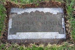 Virginia Glavina <I>Peacock</I> Norvell
