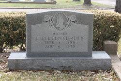 Ethel Eunice <I>Evans</I> Meier