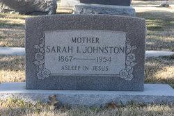 Sarah Italia <I>Neely</I> Johnston