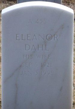 Eleanor <I>Hammond</I> Dahl