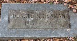 Donald M Newman