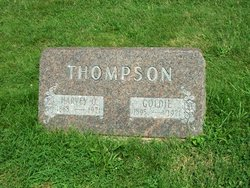 "Mary L. ""Goldie"" <I>Buroker</I> Thompson"