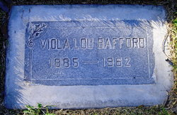 Viola Lou <I>Talkington</I> Bafford