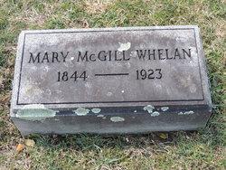 Mary <I>McGill</I> Whelan