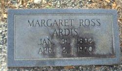 Margaret <I>Ross</I> Ardis