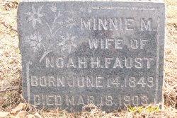 Minnie <I>Mueller</I> Faust