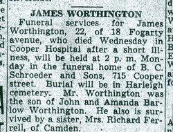 James J Worthington