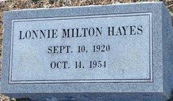Lonnie Milton Hayes