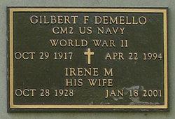 Gilbert F Demello