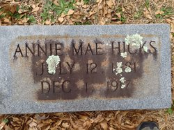 Annie Mae Hicks