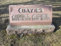 Alma Lola <I>Barkman</I> Bayes