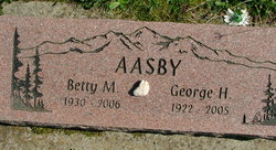 Betty Marie <I>Conner</I> Aasby