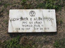 Lowther E Albritton