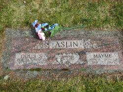 Mayme <I>Bobbitt</I> Aslin