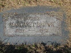 "Margaret Elmira ""Maggie"" <I>Garriott</I> Brown"