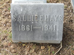 "Sarah ELizabeth ""Sallie"" <I>Fisher</I> Hays"